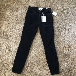 Frame Velvet Skinny Pants